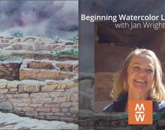 Beginning Watercolor Landscapes / July 10