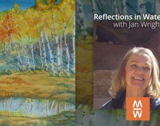 Reflections in Watercolor / June 26